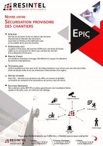 Plaquette EPIC